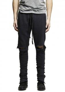AMIRI/アミリTHRASHER SWEATS BLACK/スラッシャー スウェット ブラック スウェット パンツ/メンズ/A0095