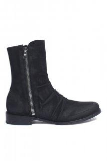 AMIRI/アミリ STACK BOOT BLACK/スタック ブーツ ブラック レザー ブーツ/メンズ/A0109
