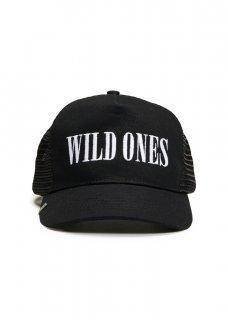 AMIRI/アミリ WILD ONES TRUCKER HAT BLACK/WHITE/ワイルド ワンス トラッカー ハット ブラック/ホワイト コットン ハット/メンズ/A0117