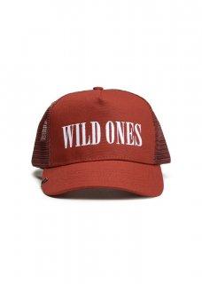 AMIRI/アミリ WILD ONES TRUCKER HAT RED/WHITE/ワイルド ワンス トラッカー ハット レッド/ホワイト コットン ハット/メンズ/A0119