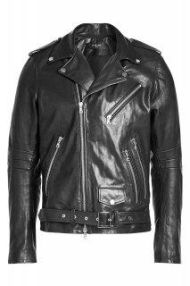 AMIRI/アミリ Leather Biker Jacket/レザー バイカー ジャケット レザー ジャケット/メンズ/A0163