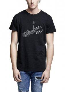 AMIRI/アミリ GUITAR CLASSIC TEE BLACK/ギター クラシック ティ ブラック コットン Tシャツ/メンズ/A0182