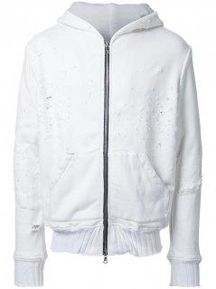 AMIRI/アミリ CLASSIC BOMER JACKET WHITE/クラシック ボマー ジャケット ホワイト コットン MA-1 ジャケット/メンズ/A0157