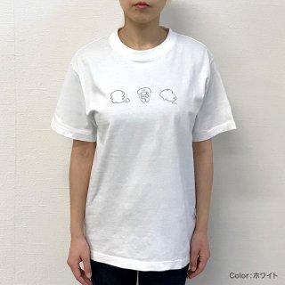ちんちんくんTシャツ2(イラスト3つver.)