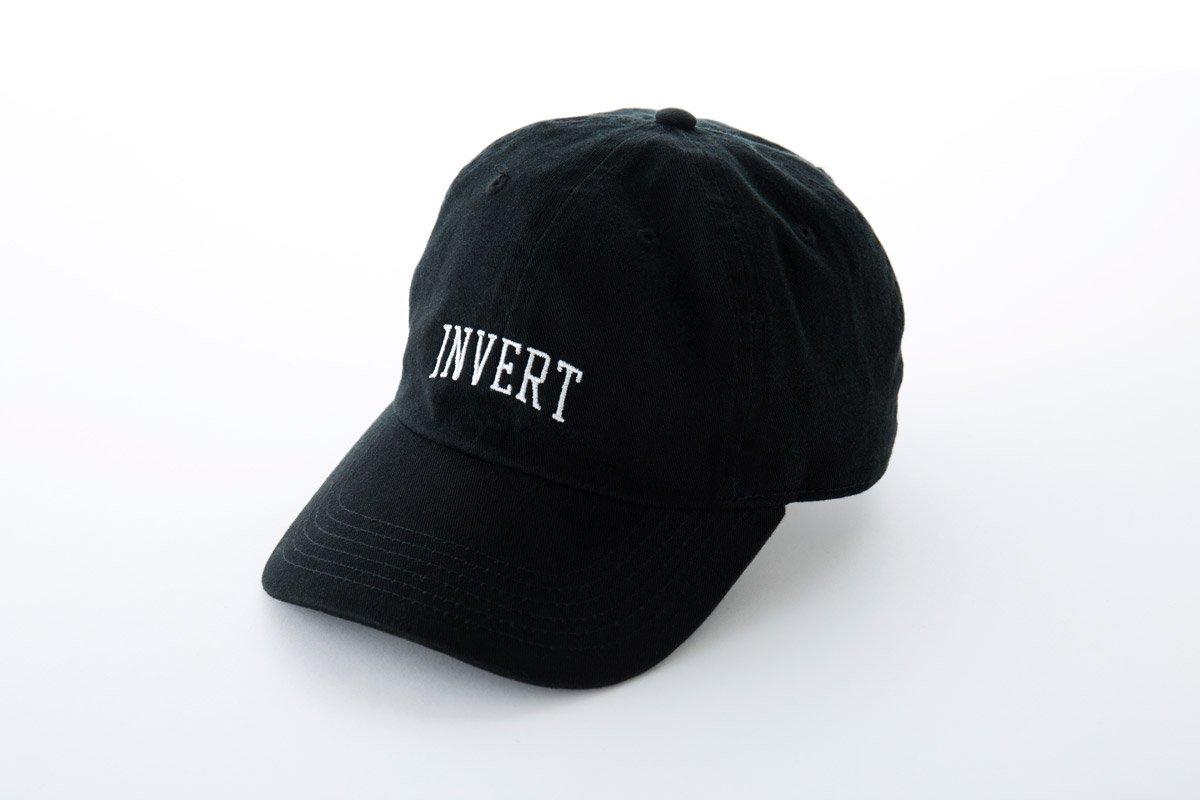 W-BASE x PNCK INVERT 6PANNEL CAP (BLACK)
