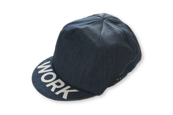 WORK & STUDY CYCLE CAP  Light blue