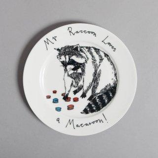 サイドプレート 'Mr. Raccoon' Jimbobart