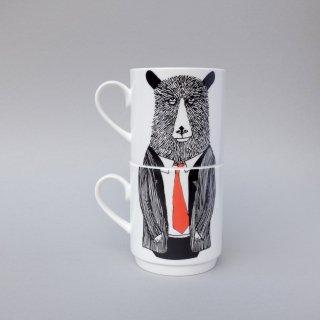 スタッキングカップ 'Mr Bear Stackable' Jimbobart