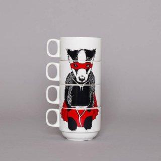 スタッキングカップ 'Super Badger' Jimbobart