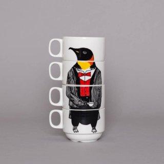 スタッキングカップ 'Mr Penguin' Jimbobart