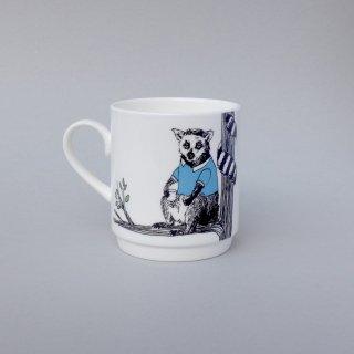 スタッキングカップ 'Animal tree Lemur' Jimbobart