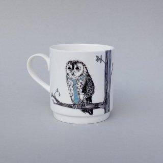 スタッキングカップ 'Animal tree Owl' Jimbobart