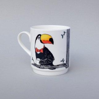 スタッキングカップ 'Animal tree Toucan' Jimbobart