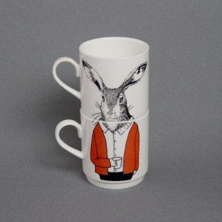 スタッキングカップ 'Mr Hare' Jimbobart