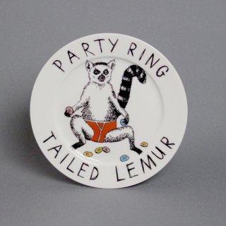 サイドプレート 'Party Ring Tailed Lemur' Jimbobart