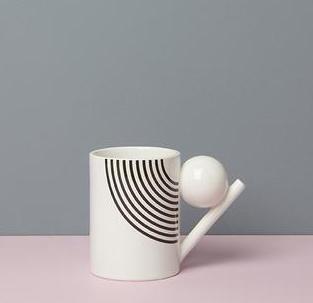 GEOMETRIC MUG_ PATTERN BALL  Design K