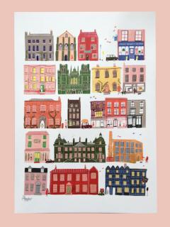 A3 Street print Polly Fern