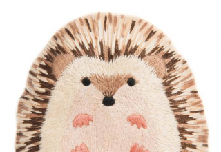 Hedgehog Embroidery Kit  刺繍キット(ハリネズミ)