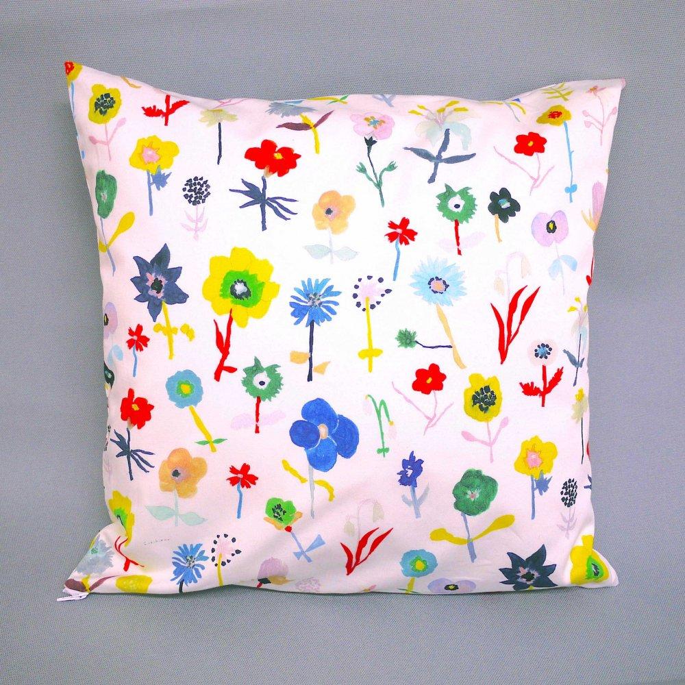 オリジナルテキスタイルクッション Original textile cushion