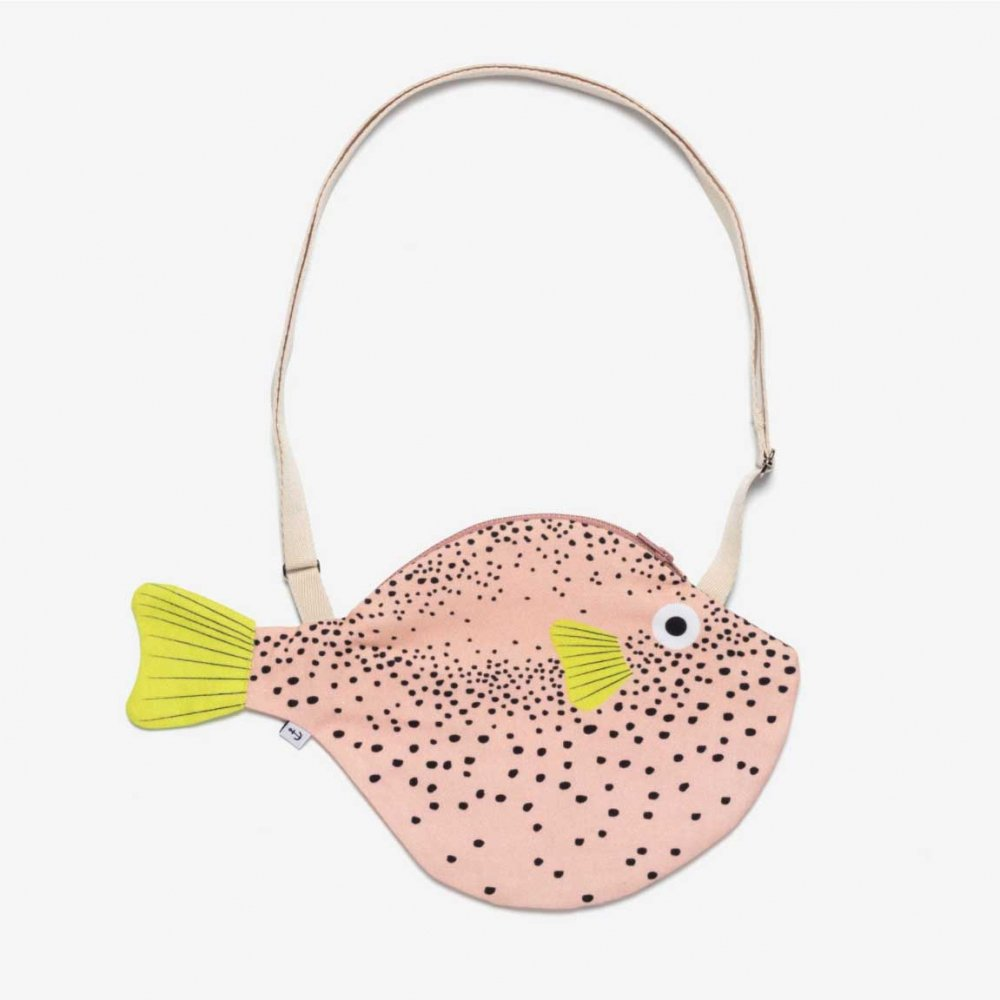 Pink Pufferfish  ( S ) ふぐショルダーバッグ ( S ) ピンク
