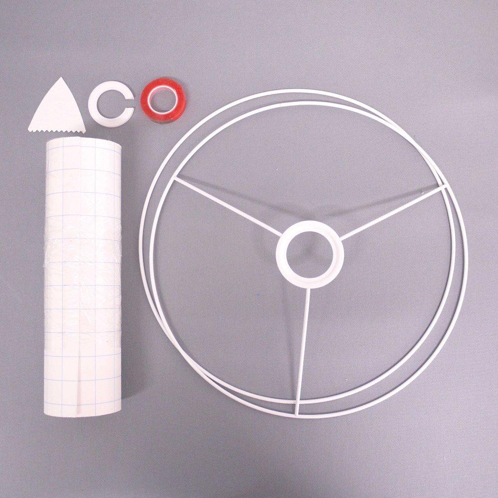 ランプシェード手作りキット( L ) Lamp Shade DIY kit ( L )