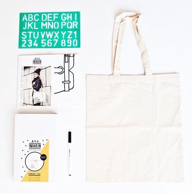 CANVAS BAG DIY kit  手作りキャンバストートバッグのDIYキット
