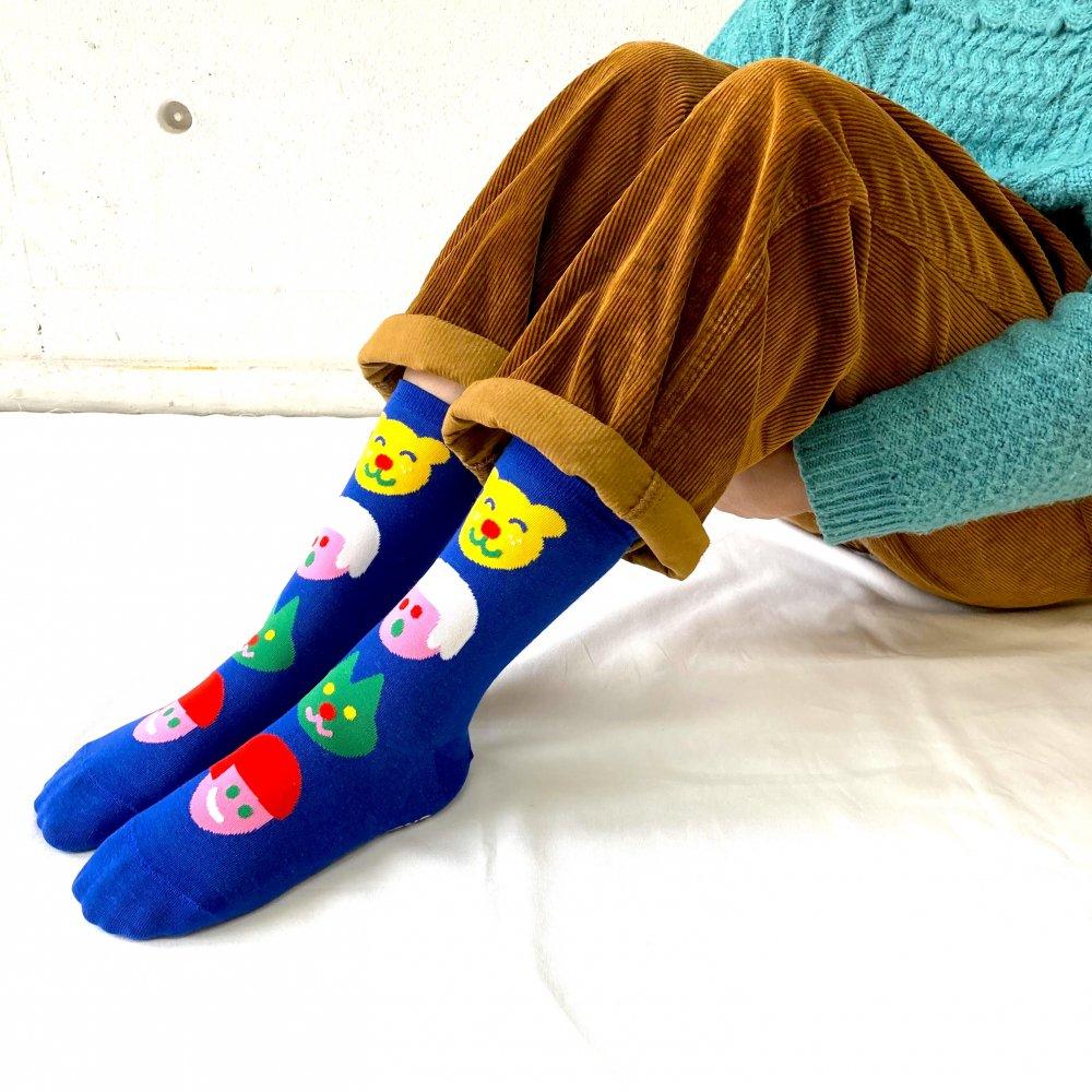 <img class='new_mark_img1' src='https://img.shop-pro.jp/img/new/icons15.gif' style='border:none;display:inline;margin:0px;padding:0px;width:auto;' />Original Socks (blue) Katie Benn オリジナルソックス(ブルー)