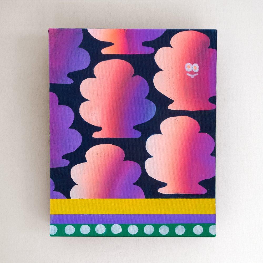 TREES -original paint- CHIEKO KOGURE
