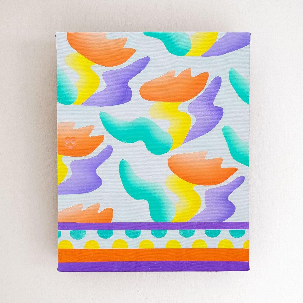DANCE -original paint- CHIEKO KOGURE