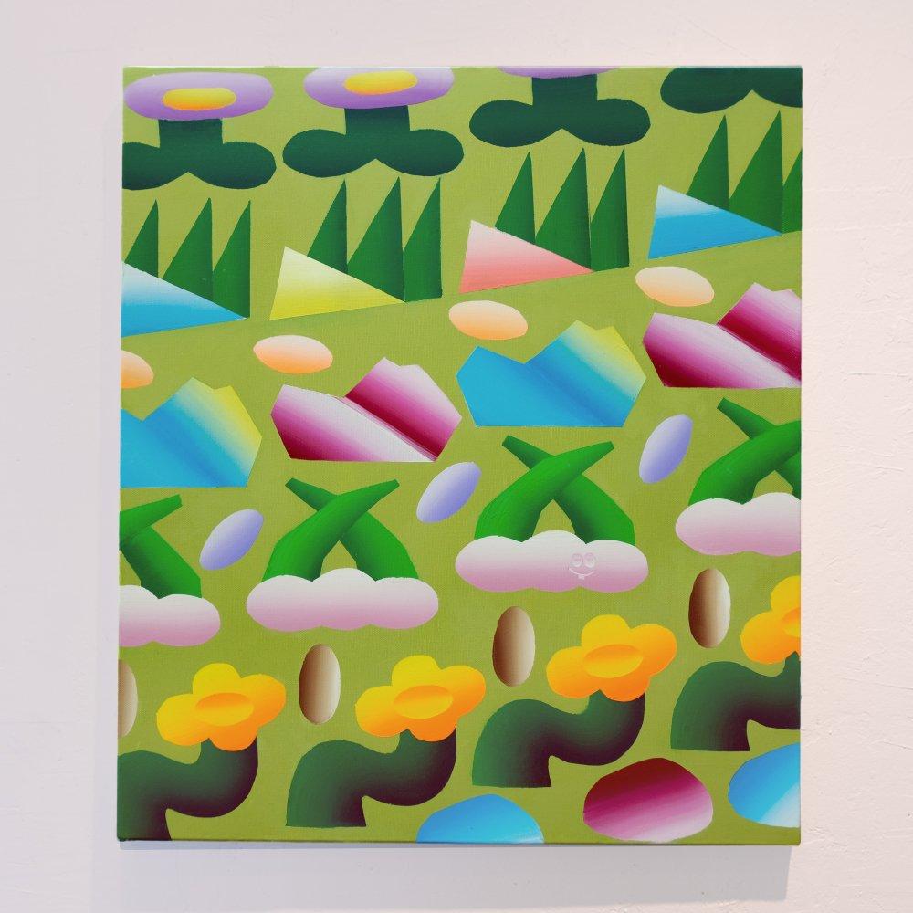 KAONIWA -original paint- CHIEKO KOGURE