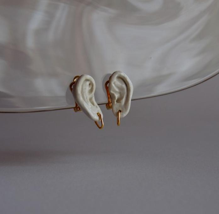 耳飾りの耳 イヤリング -MO'STO-