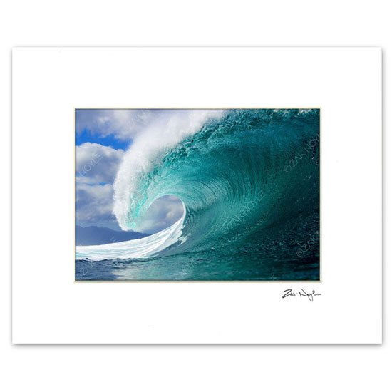 Zak Noyle<br>Matted Print<br>Winter Swell