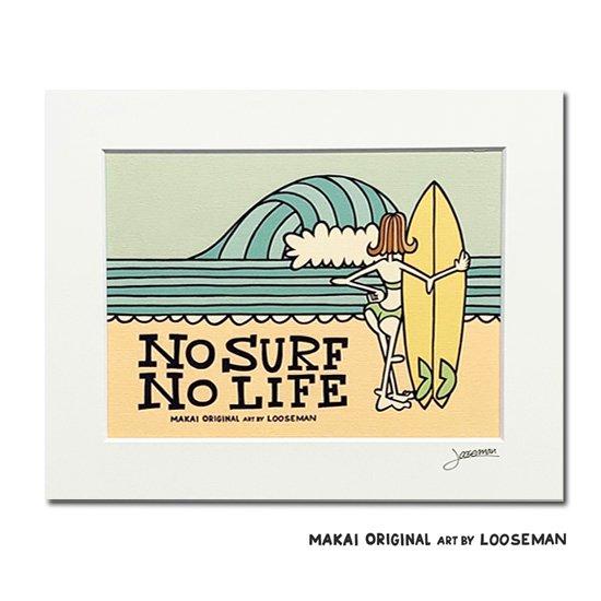 LOOSEMAN<br>アートプリント<br>Ma kai限定デザイン<br>