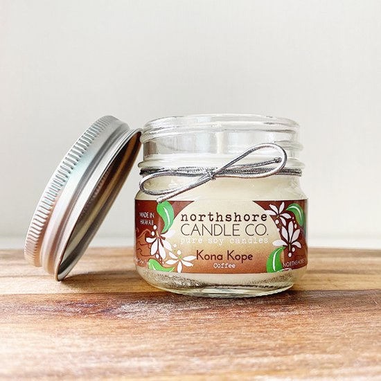 Northshore Candle<br>100% Pure Soy Candle 5oz<br>Kona Kope<br>コーヒー