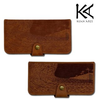 KEAN ARTS<br>手帳型 iPhone ケース <br>LEATHER <br> for iPhone 7/8/SE2/X/XS