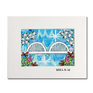 Welzie<br>アートプリント11×14inch<br>