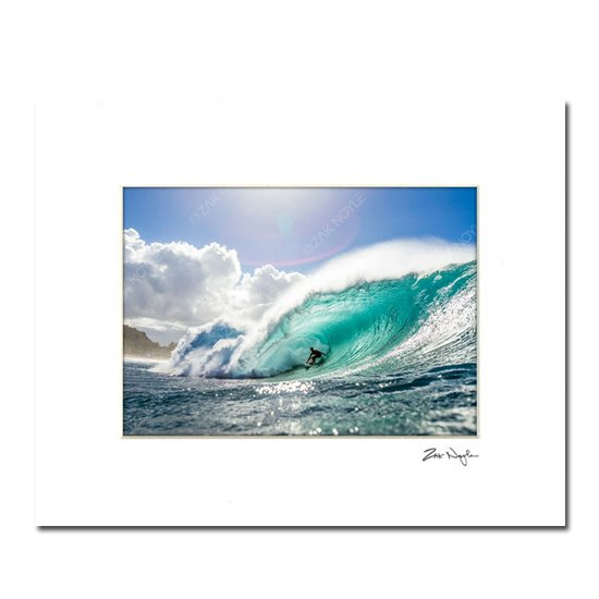 Zak Noyle<br>アートプリント<br>PIPELINE PERFECTION