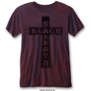 BLACK SABBATH Vintage Cross (Burn Out), Tシャツ