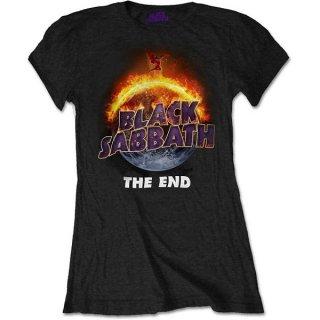 BLACK SABBATH The End, レディースTシャツ