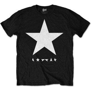 DAVID BOWIE Blackstar (White Star on Black), Tシャツ