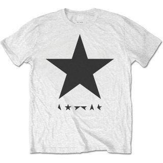DAVID BOWIE Blackstar (on White), Tシャツ
