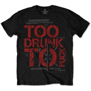 DEAD KENNEDYS Too Drunk, Tシャツ