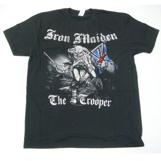 IRON MAIDEN Sketched Trooper (Back Print), Tシャツ