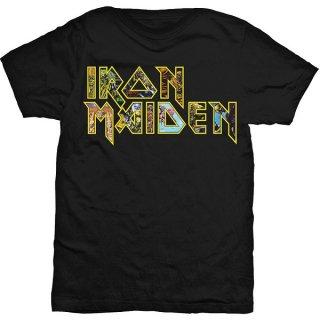 IRON MAIDEN Eddie Logo, Tシャツ