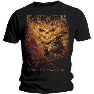 IRON MAIDEN Ghost Of The Navigator, Tシャツ