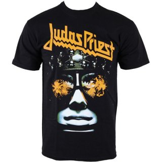 JUDAS PRIEST Hell-Bent With Puff Print Finishing, Tシャツ