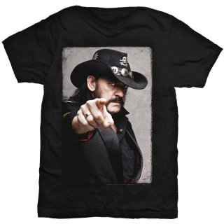 LEMMY Pointing Photo, Tシャツ