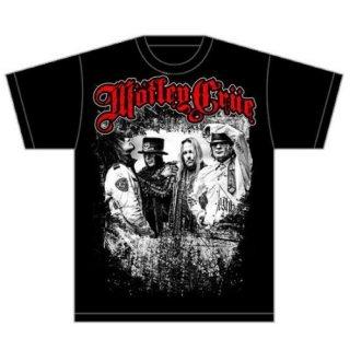 MOTLEY CRUE Greatest Hits Band Shot, Tシャツ