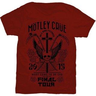 MOTLEY CRUE Final Tour, Tシャツ