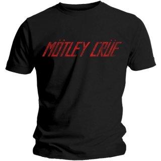 MOTLEY CRUE Distressed Logo, Tシャツ